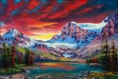 Sunrise In The Rockies