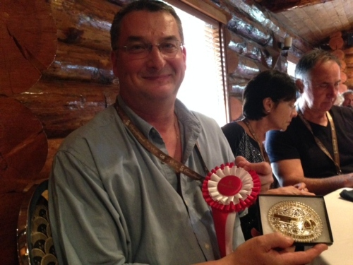 Vance Theoret 2014 Calgary Stampede Western Showcase Best Of Show-3D