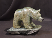 """Up For a Better Look 7""""Lx4""""H Soapstone $500.00"""