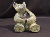 """The dark Side of Bling 5""""Lx6""""H Soapstone"""