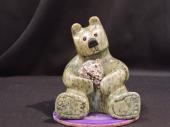 "Bear Market Portfolio 5""Lx6""H Soapstone $600.00"