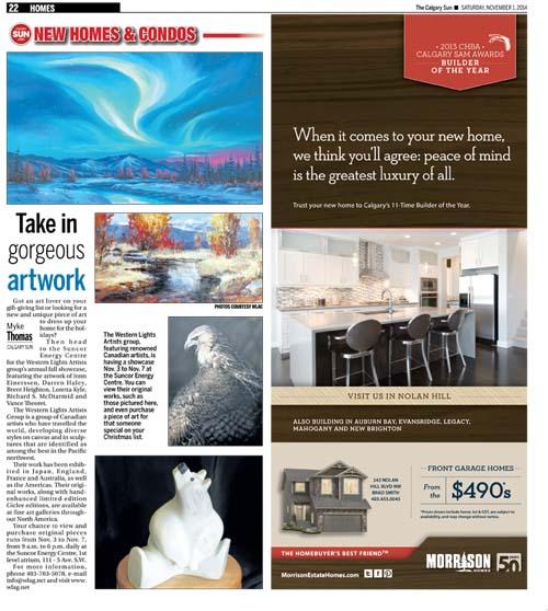 Calgary Sun Article