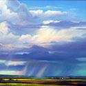 Thunderheads 24 x 36