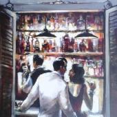 La Vie En Rose Acrylic 36×24 6000.00